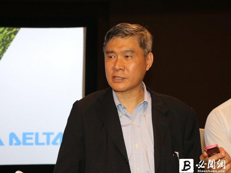 台達電董事長海英俊。(新聞部記者攝)