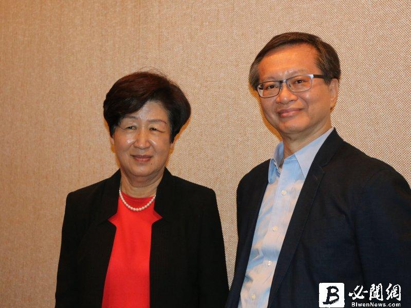 太景董事長許明珠(左)。(資料照)