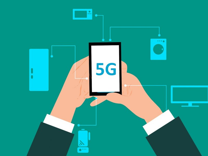 TrendForce:5G相關基礎建設尚未完備 估2019年5G手機滲透率約0.4%。(圖/Pixabay)