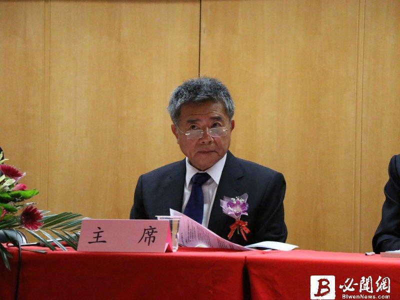豐興董事長林明儒。 (資料照)