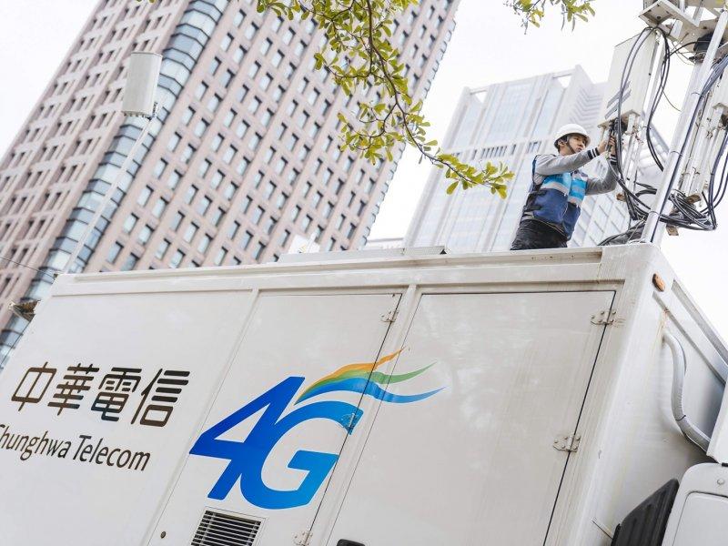 中華電信:2019年4G將持續建設高頻段基地台。(中華電信提供)