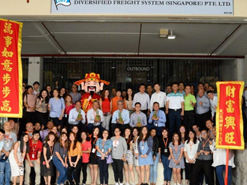 中菲行新加坡海運子公司正式成立 。(中菲行提供)