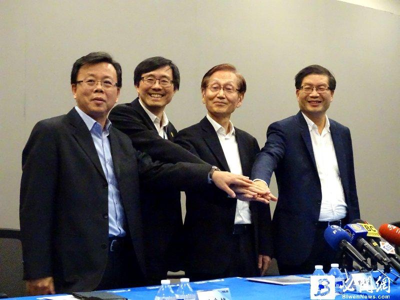 華碩高層重組現在進行式 營運長趙允明辭職 謝明傑接任。圖為華碩去年12月記者會。(資料照)