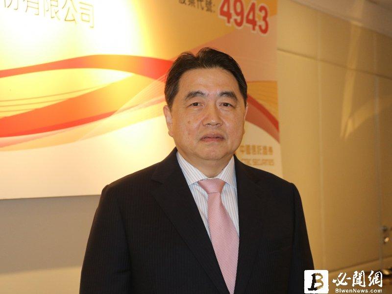 康控-KY董事長呂朝勝。(資料照)