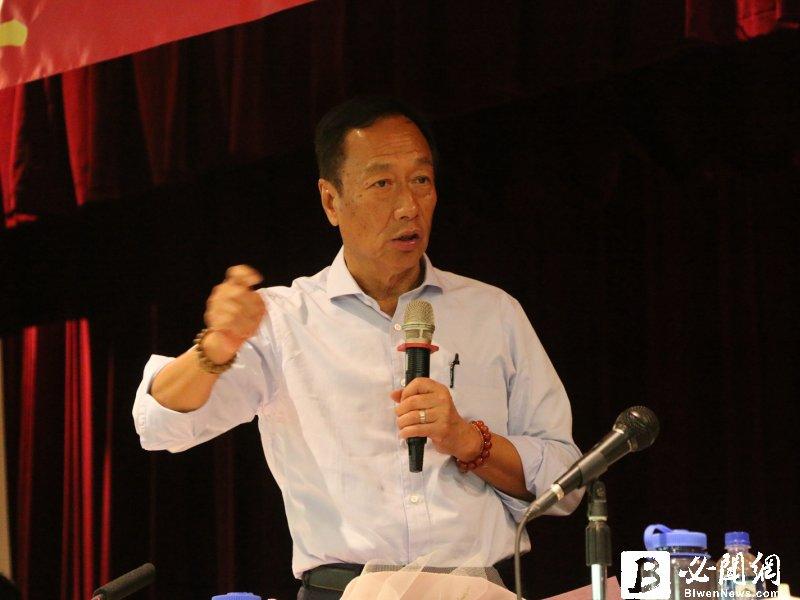郭台銘宣布參選 謝金河:台灣經濟需要打破框架的領導人!(資料照)
