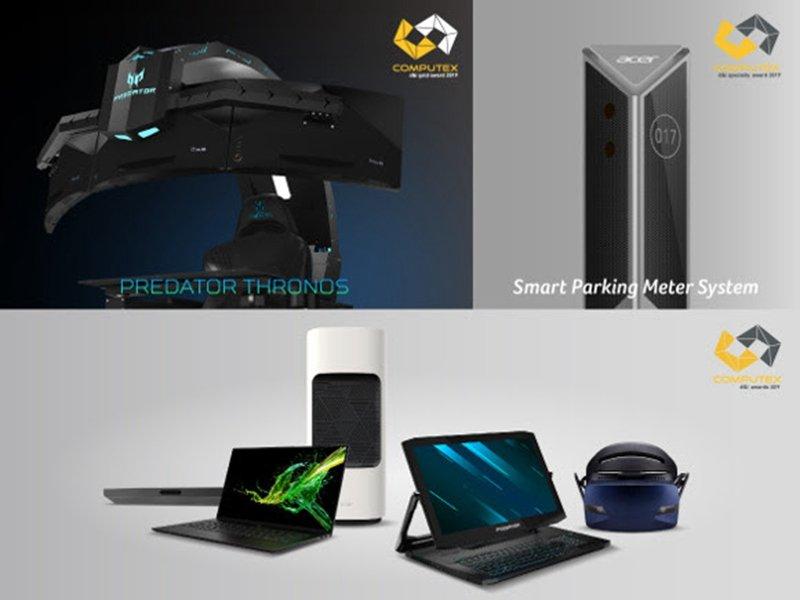 宏碁旗下七款產品2019台北國際電腦展獲獎 Predator掠奪者電競座艙奪創新設計金質獎。(宏碁提供)
