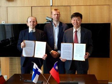 工研院與芬蘭Pöyry集團跨國合作 開發循環經濟新商機