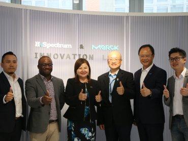 鴻海永齡、默克共同成立H. Spectrum & Merck Innovation Lab正式啟用
