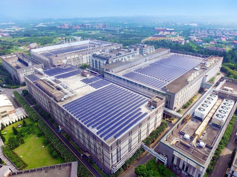 友達擬斥資16.5億元 加碼投資太陽能廠星耀能源。(友達提供)
