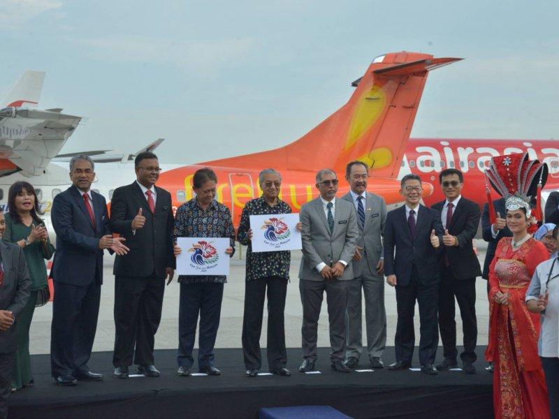 夏普與馬來西亞旅遊局深度合作 8K技術助旅遊產業。(夏普提供)