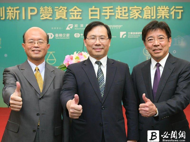 台首例專利融資 工研院攜手臺企銀、信保基金挺創業圓夢。(資料照)