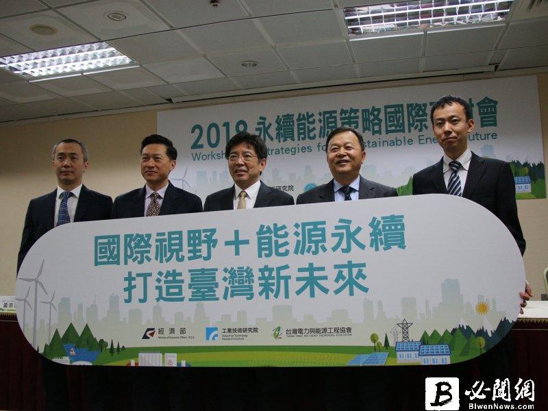 工研院「2019 永續能源策略國際研討會」打造台灣永續能源新未來。(資料照)
