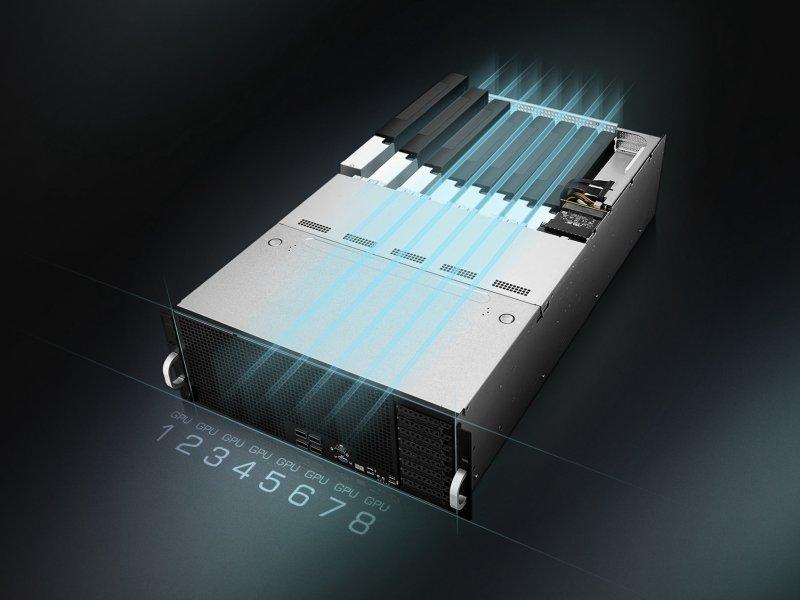 華碩1P與2P伺服器創246項SPEC標準評測世界紀錄。(華碩提供)