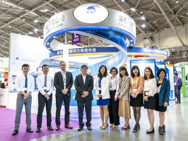 信紘科參加2019 SEMICON Taiwan  展現綠色製程研發創新能量。(資料照)