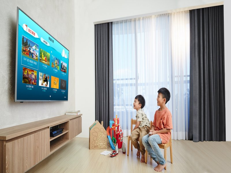 BenQ推出為孩子量身打造的新概念Android TV。(廠商提供)