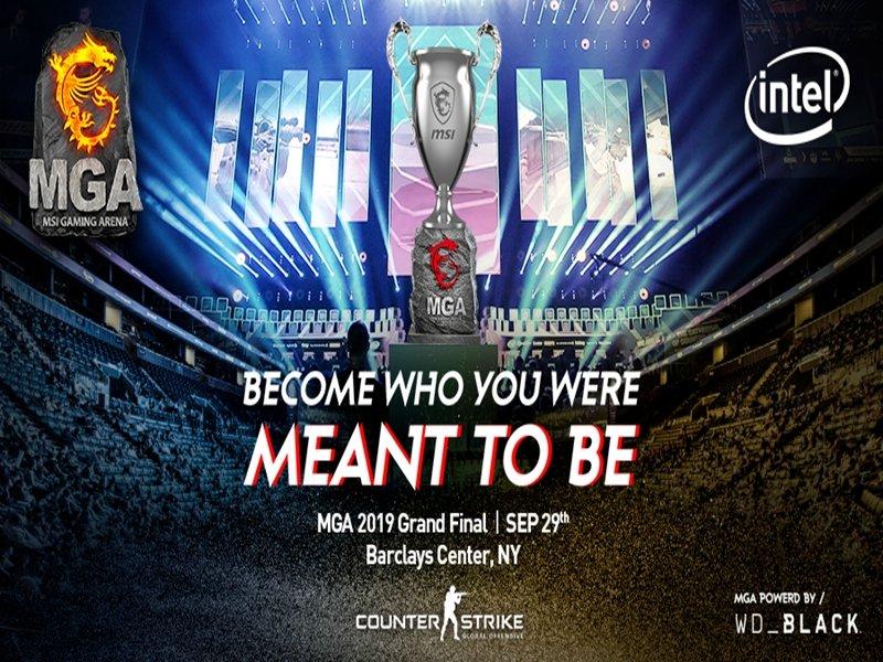 MSI微星再度擕手ESL MGA 2019全球冠軍總決賽28日登場。(廠商提供)