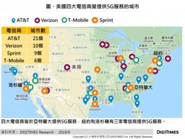 DIGITIMES Research:美國以友善投資環境集電信商之力 目標再勝5G競賽