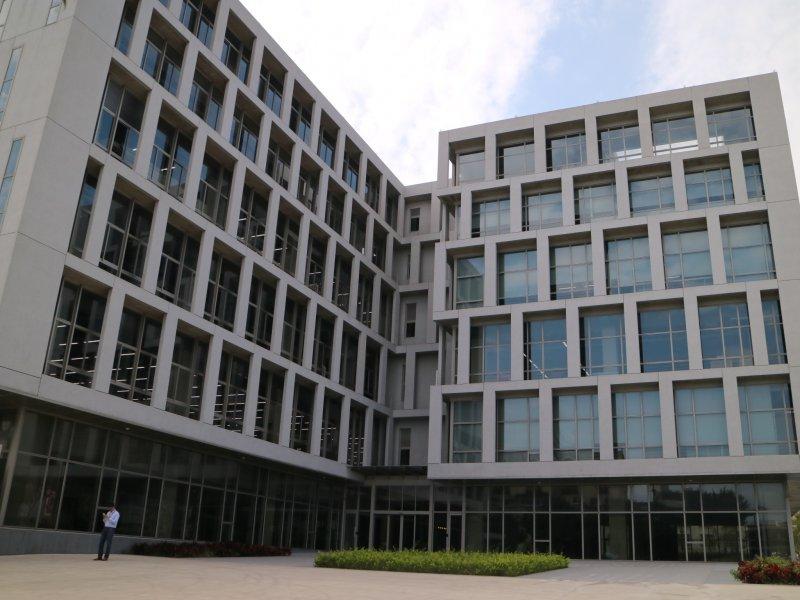 鴻海子公司鴻佰新增桃園第二生產基地 伺服器產能大增。(鴻海提供)