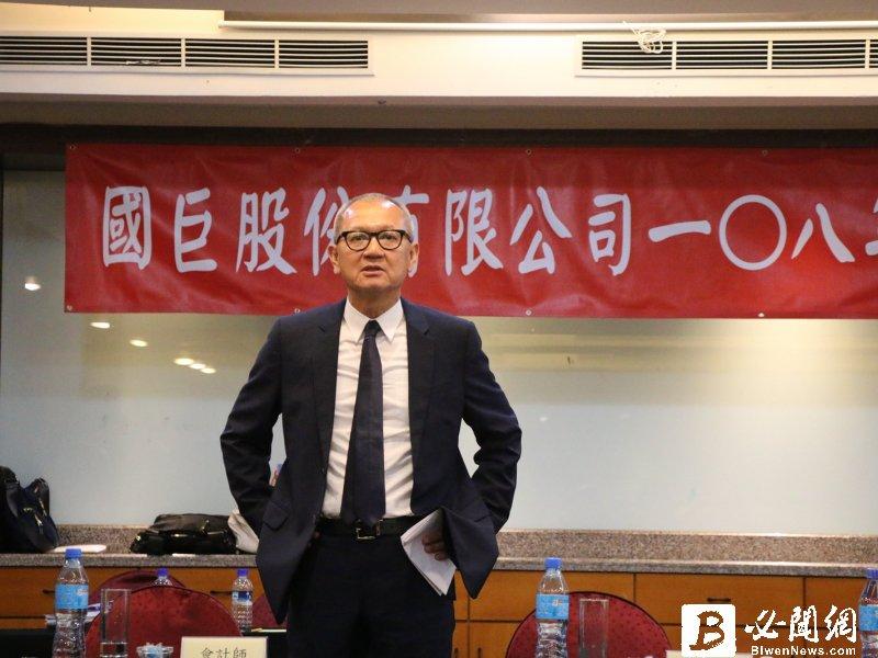 陳泰銘:併購基美將是國巨未來3-5年的成長動能。(資料照)