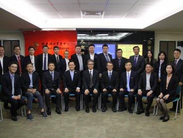 馬來西亞華商組團參訪櫃買中心 表達來臺上櫃意願