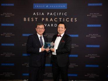 中華電信首獲Frost & Sullivan頒發亞太新興市場最佳電信業者獎 同步蟬聯年度台灣最佳行動服務與最佳IDC服務業者獎