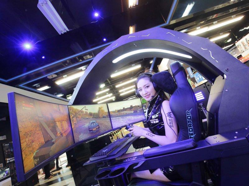 宏碁積極活絡電競生態圈 宣布進駐亞洲最大電競嘉年華WirForce。(廠商提供)
