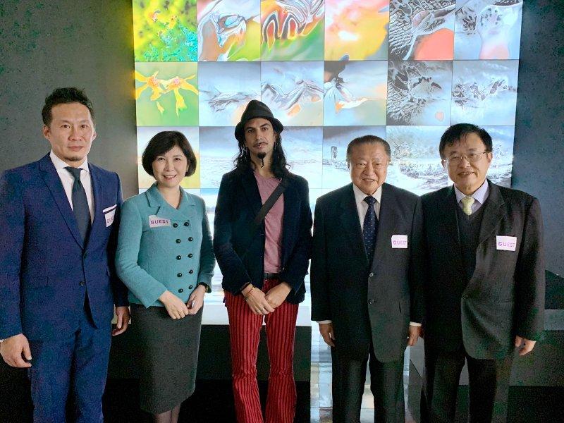 台達與日本森美術館合作 以8K極緻投影結合AI深度學習 創新展演未來藝術。(廠商提供)