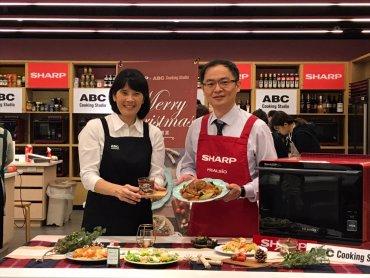 夏普攜手ABC Cooking Studio打造幸福料理空間