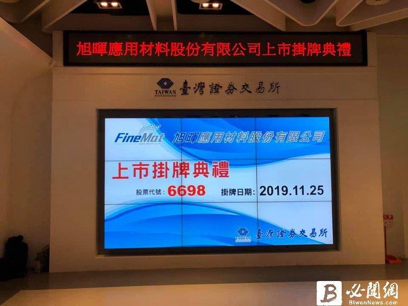 旭暉應材掛牌上市 中國OLED新產能成未來動能。(資料照)