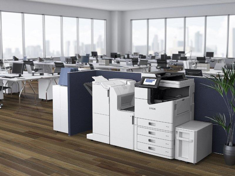 看準企業「黑白」文件列印需求 Epson極速微噴影印機WF-M20590 。(廠商提供)