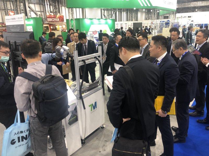 達明機器人重磅回歸日本國際機器人大展 AI視覺、工廠智能管理系統齊亮相。(廠商提供)