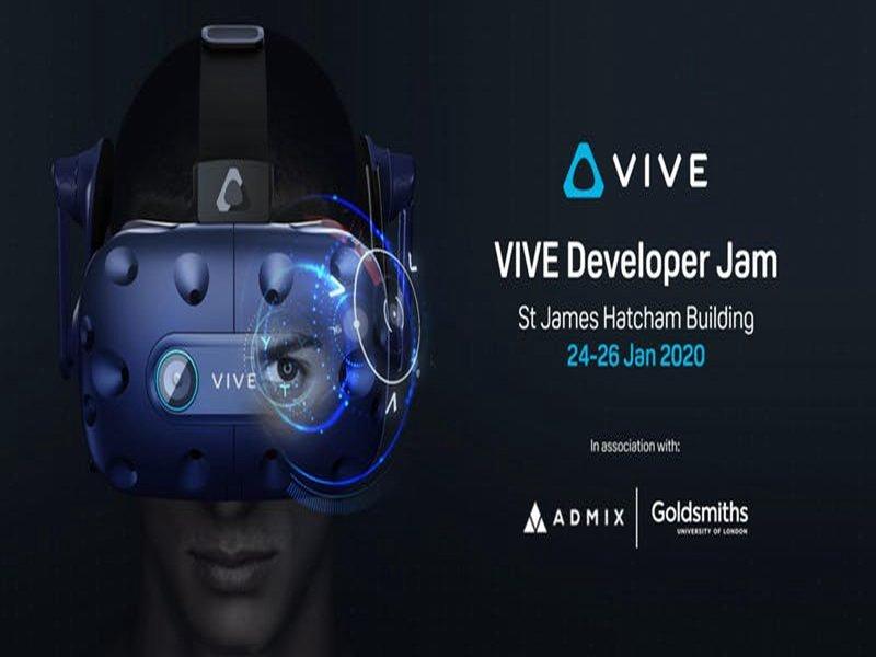 HTC、倫敦大學金匠學院與Admix攜手合作 「倫敦VIVE開發者大賽」月底開跑。(宏達電提供)