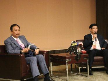 鴻海創辦人郭台銘:武漢肺炎恐將影響今年經濟 但鴻海有能力因應