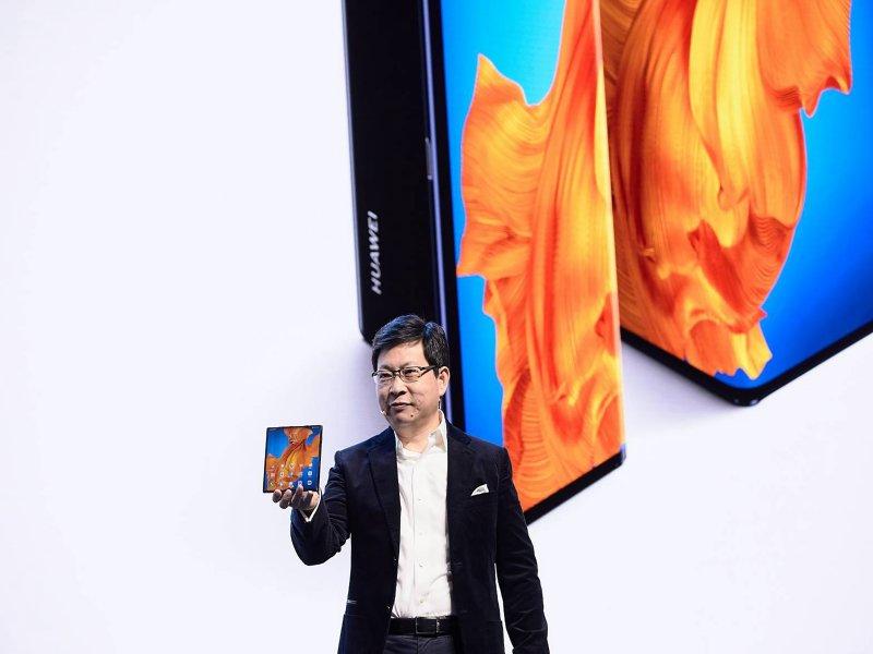 華為發表全新5G折疊手機HUAWEI Mate Xs  創新體驗再升級。(廠商提供)