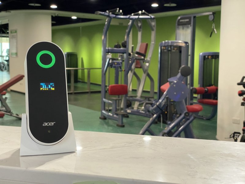 宏碁推出智慧空氣品質解決方案 並啟動台灣健康呼吸計畫。(宏碁提供)