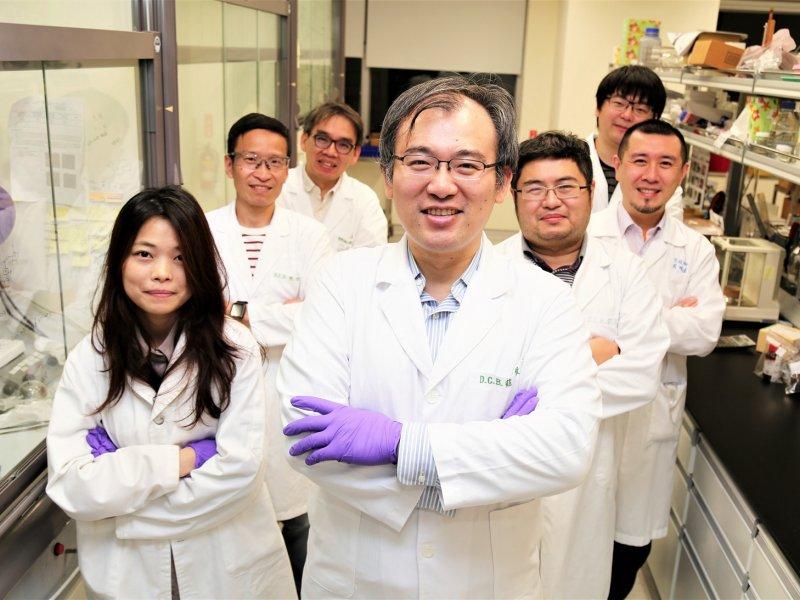新冠病毒抗疫國家隊 生技中心完成法維拉韋合成。(生技中心提供)