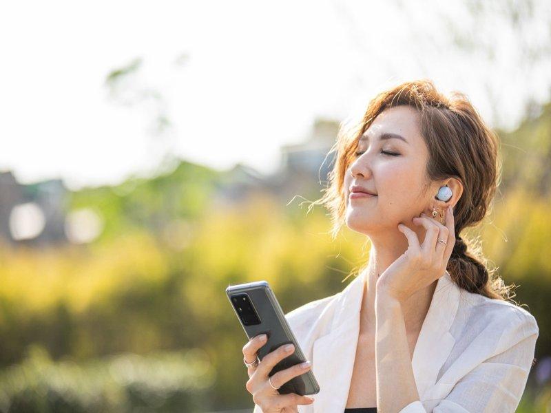 三星首款5G手機Galaxy S20旗艦系列 正式登台。(廠商提供)