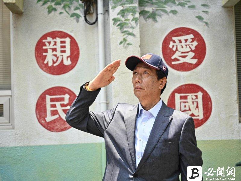 台灣防疫佳 郭台銘:向團隊致上最高敬意及謝意 SOP可拍成短片在國際宣傳。(資料照)
