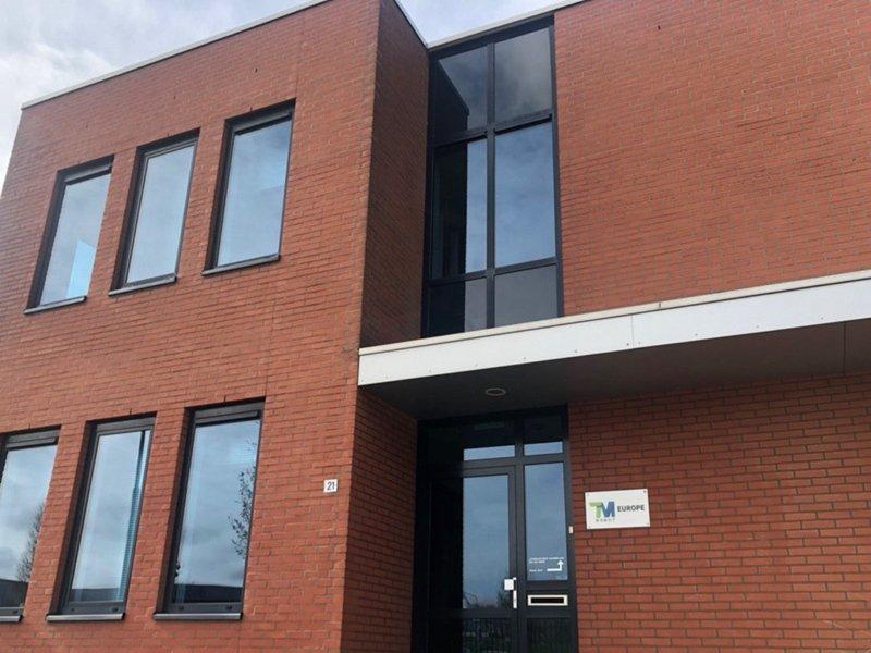 達明機器人歐洲首間辦公室正式啟用。(達明提供)