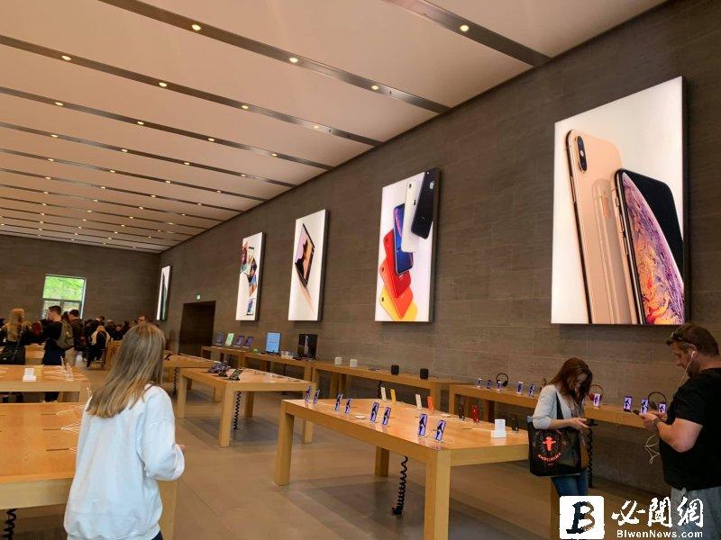 蘋果員工受限旅遊禁令無法赴中 傳蘋果iPhone 12原型機尚未完成 恐像iPhone X到年底才可銷售。(資料照)