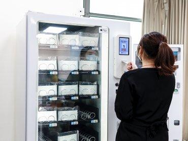 微星秀AIoT技術 與業安科技共同合作開發口罩實名制販賣機