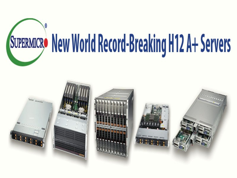 Supermicro推出業界最廣泛支援第二代AMD EPYC™處理器的系統組合 創下27項性能基準評測世界紀錄。(廠商提供)