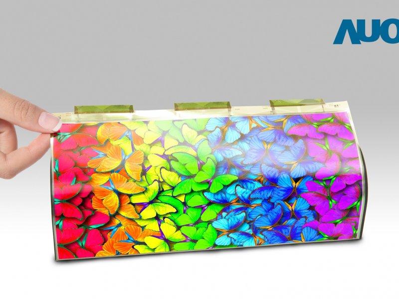 友達攜手錼創 合作開發高解析度柔性Micro LED顯示技術。(友達提供)