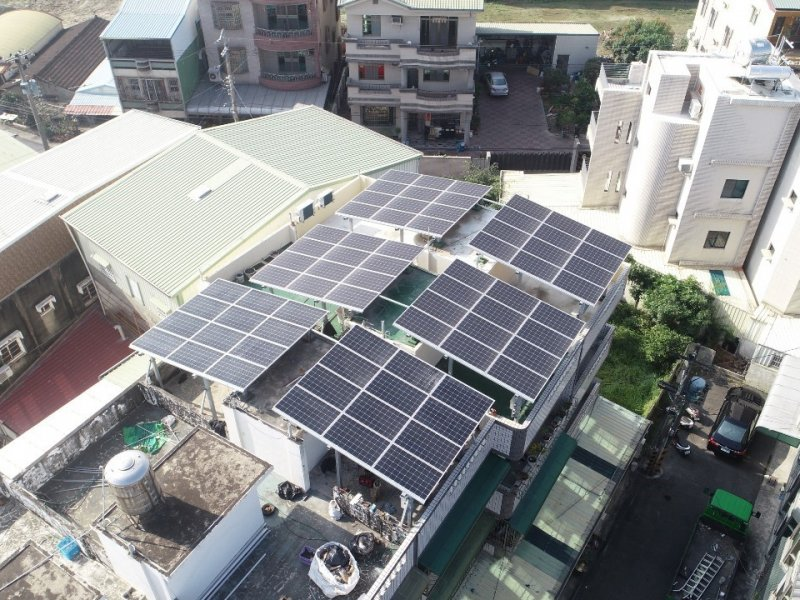 元太科技採購第一度新設電廠之自由交易綠電宣布將併聯轉供。(元太提供)