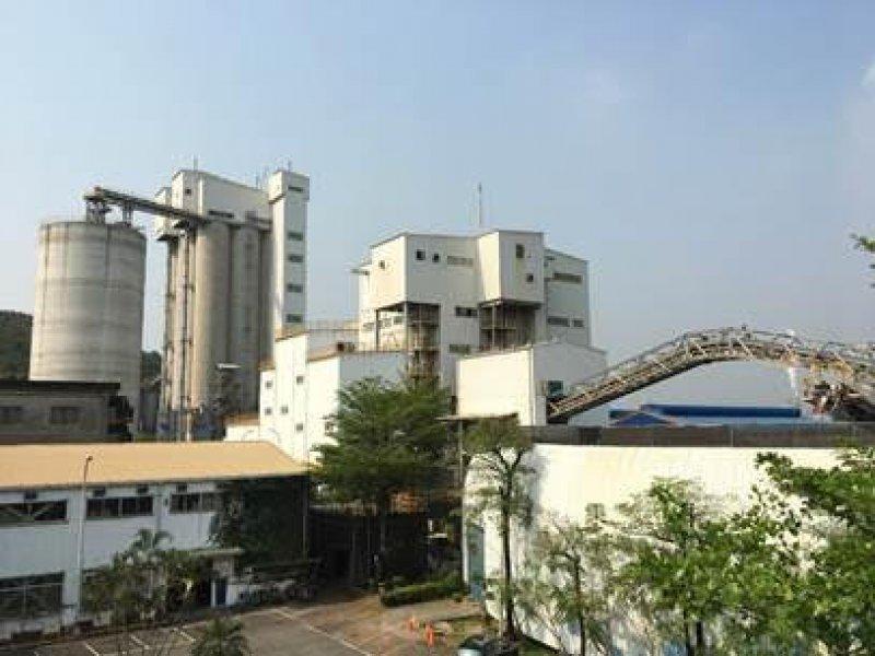 高爐煉鐵副產品「水淬爐石」 已成國際炙手可熱循環經濟材料。(中聯資提供)
