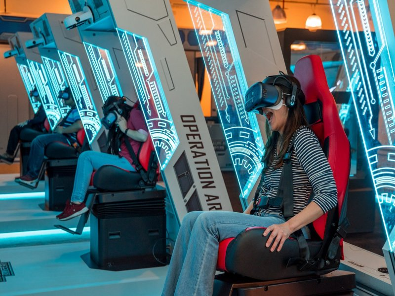 HTC VIVELAND XR超體感樂園襲捲南台灣 打造好萊塢等級極致冒險體驗。(廠商提供)