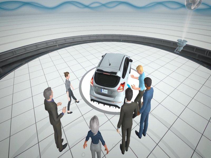 HTC VIVE SYNC – VR虛擬會議平台Beta版上線 開放企業免費使用。(廠商提供)