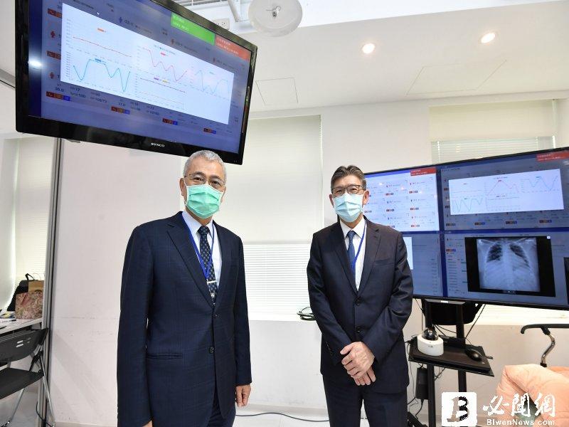 工研院以科技力助北醫打造「零接觸式防疫科技平台」 成最佳防疫照護利器。(資料照)