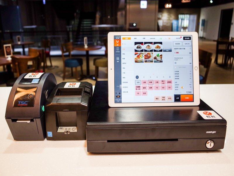 鴻海、王品轉投資肚肚力挺餐飲業 贊助1000台iPad對抗疫情。(肚肚提供)
