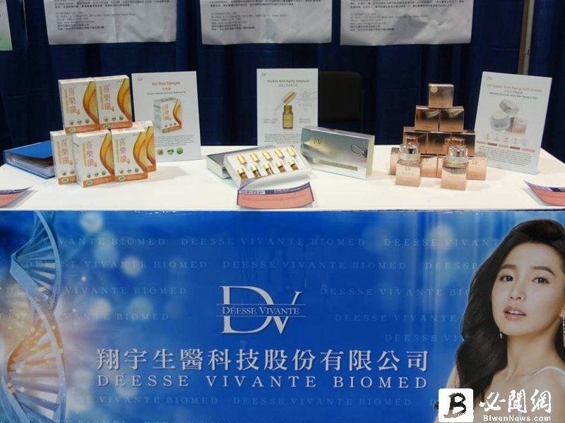 翔宇4月營收1.43億元  新品DV 醇耀妍重磅上市 全力搶攻保健商機。(資料照)
